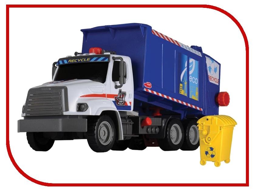 Игрушка Dickie Toys Мусоровоз AirPump 3806002 dickie toys мусоровоз heavy city truck