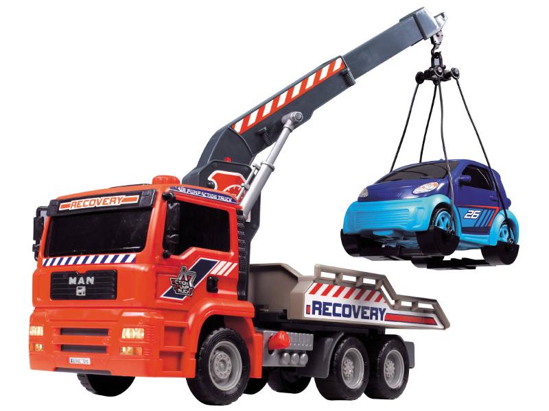 Игрушка Dickie Toys Эвакуатор AirPump 3806000 dickie toys игрушка городской поезд
