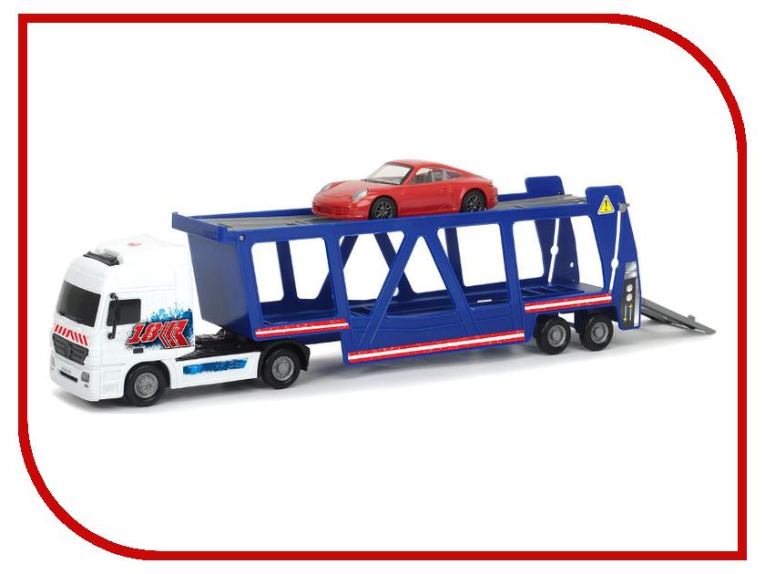 Игрушка Dickie Toys Трейлер автовоз + машинка Porsche 3747004 dickie toys dickie toys игровой набор трейлер дом на колесах