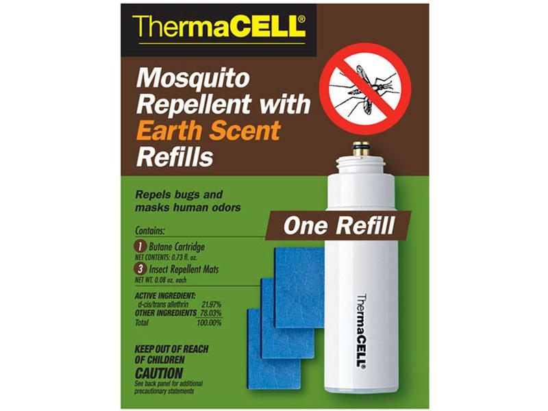 Средство защиты от комаров ThermaCELL (1 газовый картридж + 3 пластины) MRE00-12
