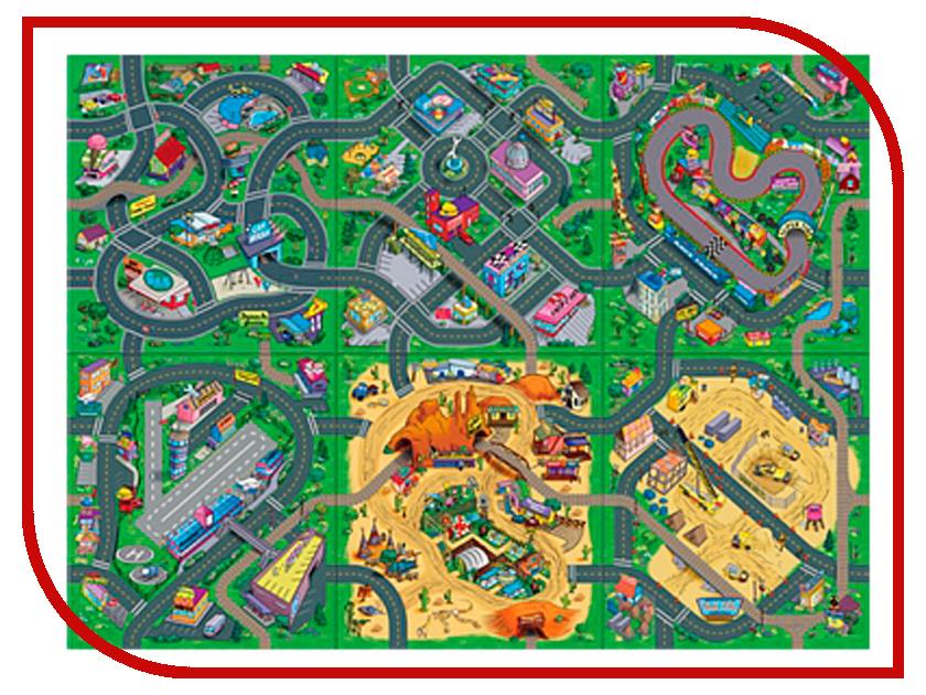 Игра Dickie Toys Игровой коврик + 1 машинка 3745003 dickie toys игровой набор аэропорт