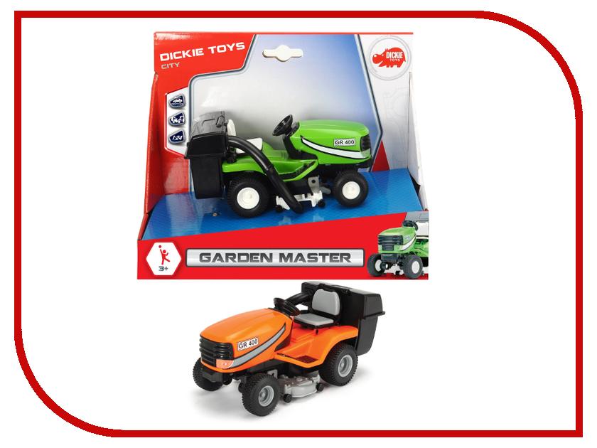 Игрушка Dickie Toys Трактор садовый 3742007 dickie toys dickie toys трактор fendt с прицепом