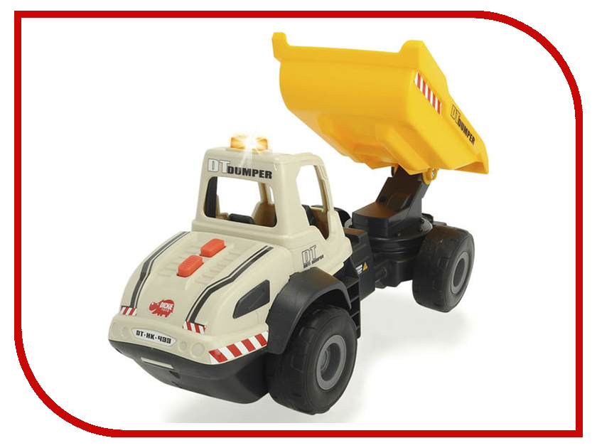 Игрушка Dickie Toys Самосвал 3726002 цены онлайн