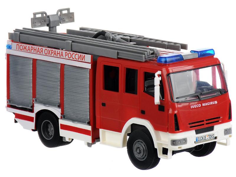все цены на Игрушка Dickie Toys Пожарная машина (3717002) 30 см онлайн
