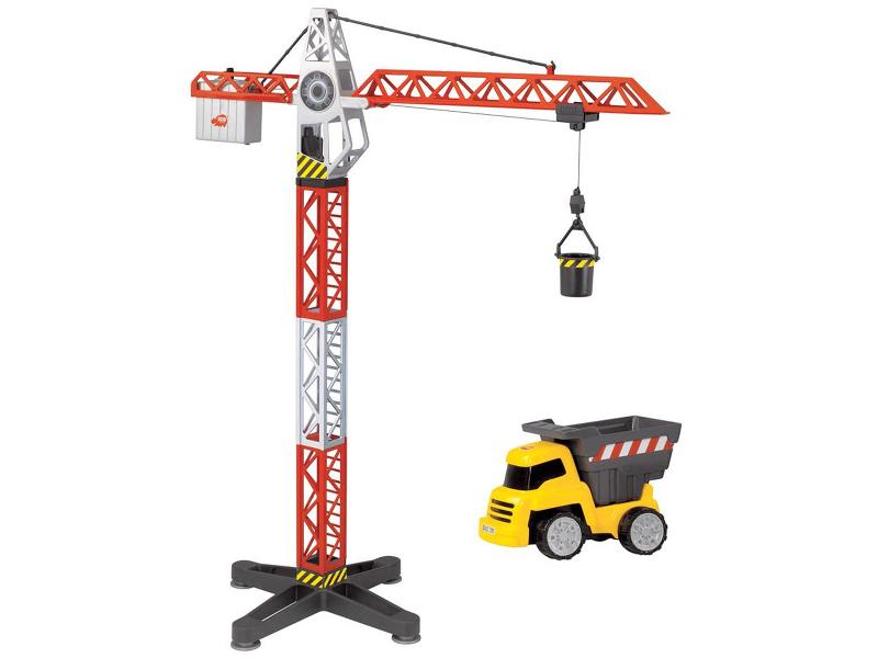 Игрушка Dickie Toys Кран с машинкой (3463337) кран dickie на дистанционном управлении