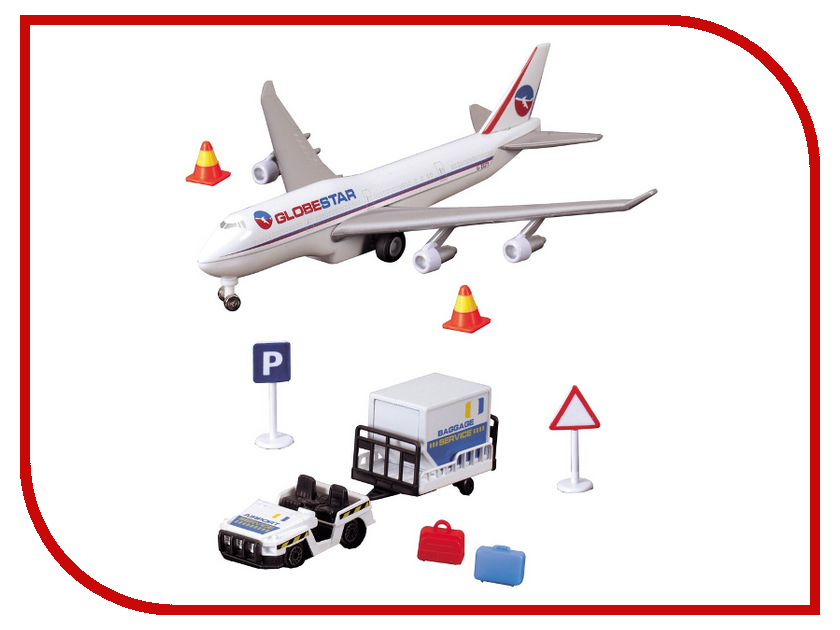 Игрушка Dickie Toys Аэропорт 3343002 игрушка dickie toys набор машинок 3745000