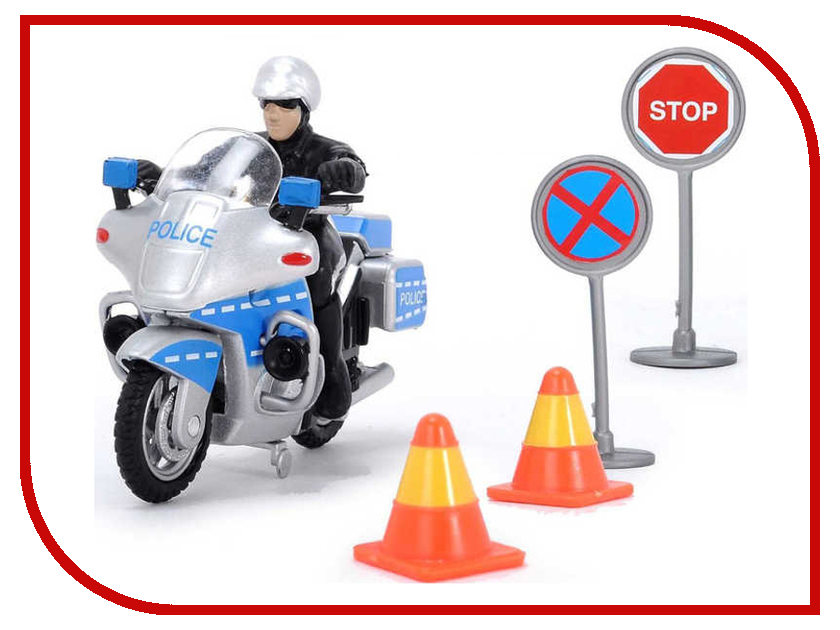 Игрушка Dickie Toys Полицейский набор 3342001 игровые наборы dickie полицейский набор свободный ход 10 см