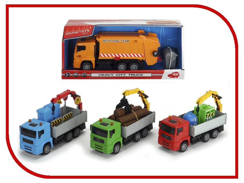 Игрушка Dickie Toys Городская техника 3744003 dickie лесозаготовочная техника