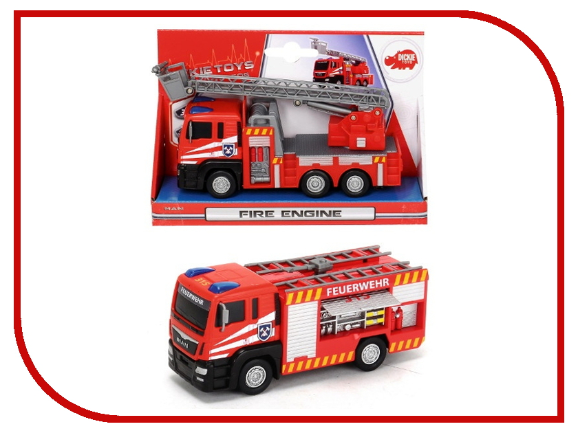 цена на Игрушка Dickie Toys Пожарная машина 3712008