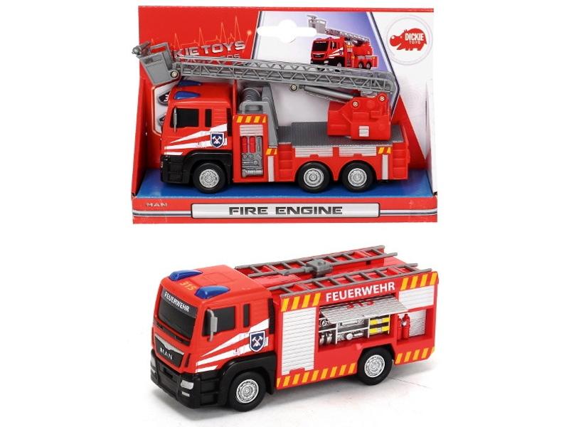 Игрушка Dickie Toys Пожарная машина 3712008 dickie toys игрушка городской поезд