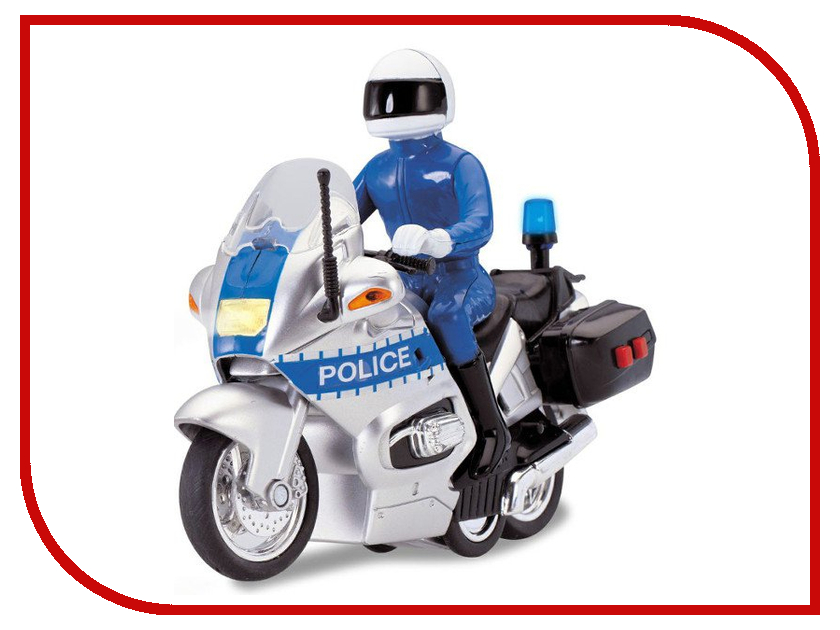 Игрушка Dickie Toys Полицейский мотоцикл 3712004 dickie toys 15см