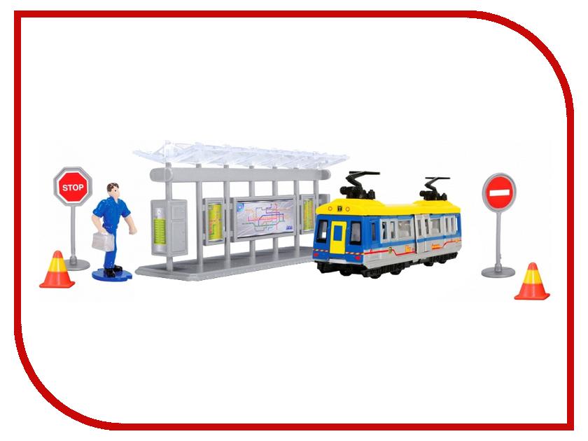 Dickie Toys Трамвайная остановка 3343001 автотрек dickie simba 3083077 спайдер мэн