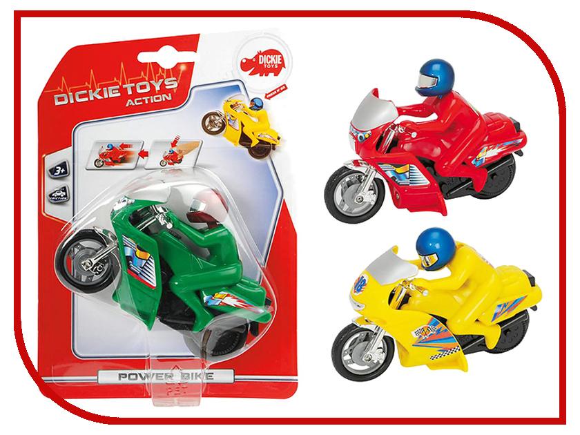 Игрушка Dickie Toys Мотоцикл 3342004 dickie toys dickie toys игровой набор трейлер дом на колесах