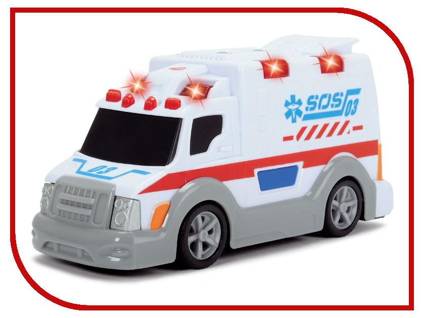 Игрушка Dickie Toys Машина скорой помощи 3302004 dickie toys dickie toys машина для серферов фрикционная наклейки
