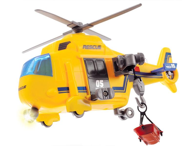 Игрушка Dickie Toys Спасательный вертолет 3302003 dickie toys игрушка городской поезд