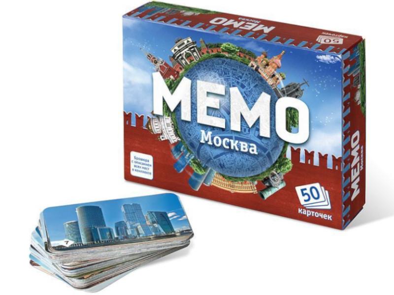 Настольная игра Нескучные игры Мемо Москва 7205