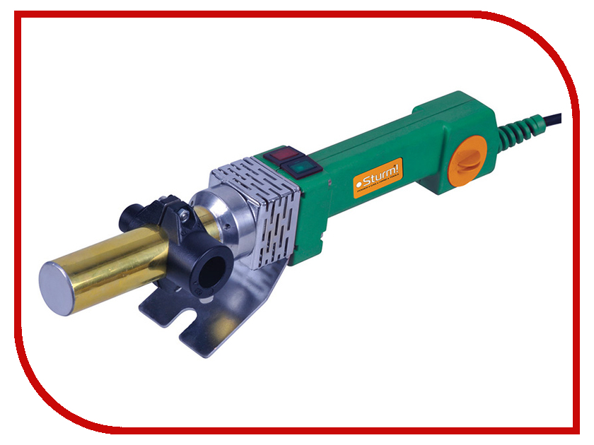 Аппарат для сварки пластиковых труб Sturm! TW7218 стамеска sturm 14мм 10630114