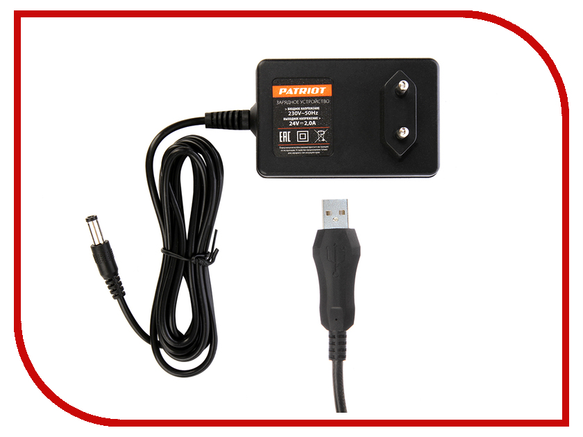 Зарядное устройство Patriot для Li-Ion BR 241Li/BR 241Li-h 180201113