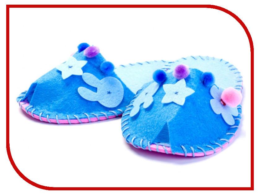Набор для творчества Bradex Шьем Тапочки Blue DE 0151 тапочки beppi beppi be099amwad40