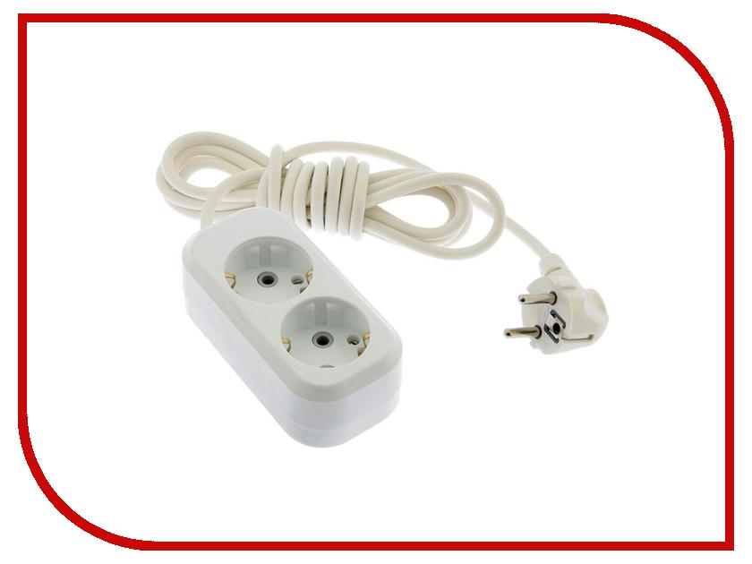 Удлинитель Tundra 2 Sockets 3m White 2276536 аксессуар tundra 4t 3m 1002762