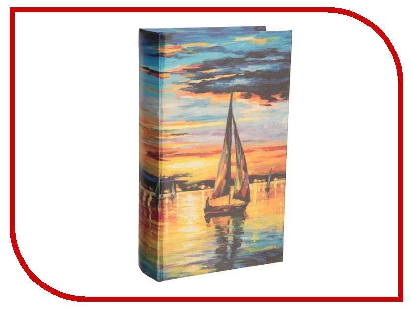 Сейф книга СИМА-ЛЕНД Парусник на закате 21x13x5cm 2682218 сейф книга сима ленд соловушка 1522132