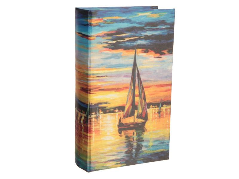 Сейф книга СИМА-ЛЕНД Парусник на закате 21x13x5cm 2682218