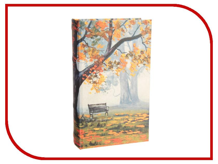 Сейф книга СИМА-ЛЕНД Осень в парке 21x13x5cm 2682216 блокнот printio осень в парке