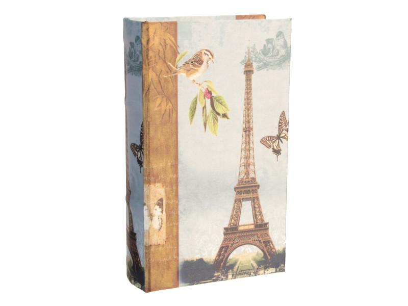 цена на Сейф книга СИМА-ЛЕНД Париж, золотой дождь 21x13x5cm 2682213