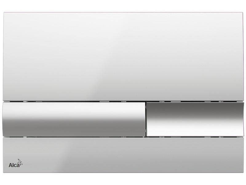Фото - Кнопка смыва AlcaPlast M1741 клавиша смыва alcaplast хром глянцевая m1741