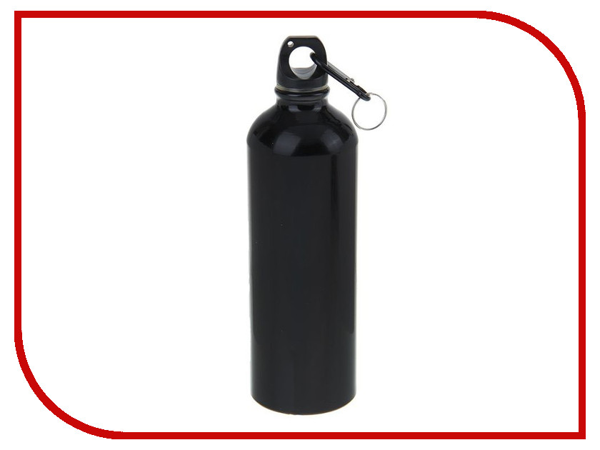 Бутылка СИМА-ЛЕНД 750ml Black 1164308 coolchange outdoor stainless steel water bottle silver black 750ml