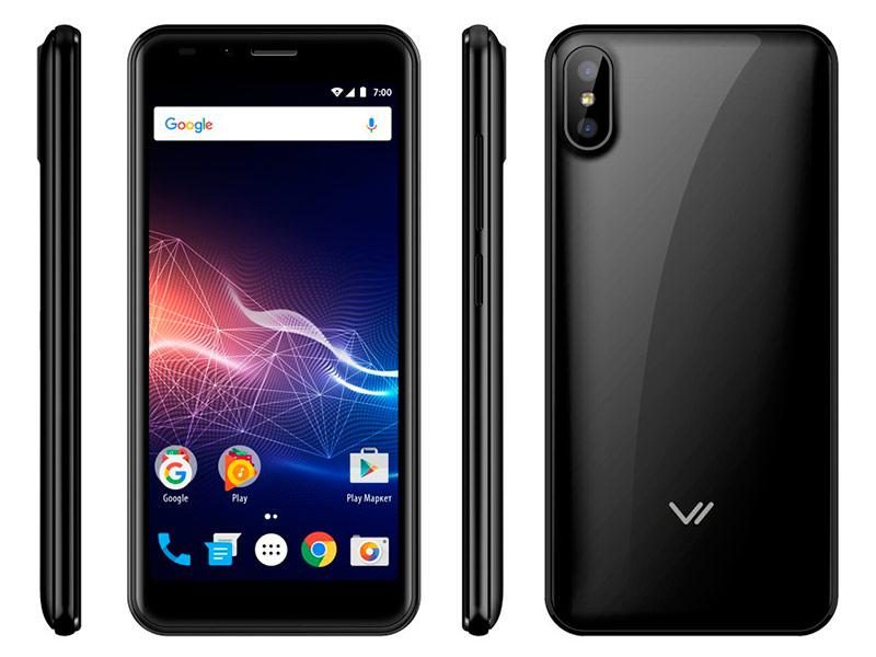 Сотовый телефон Vertex Impress Click Black vertex impress u black