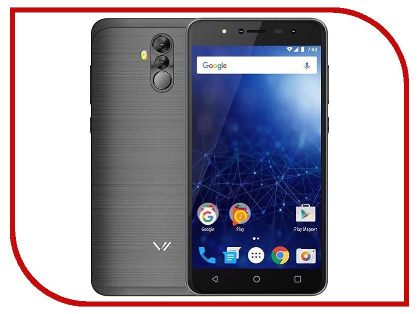 Сотовый телефон Vertex Impress New LTE Grafite смартфон vertex impress lux lte titan
