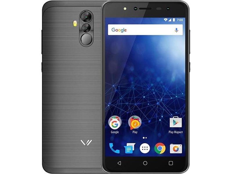 лучшая цена Сотовый телефон Vertex Impress New LTE Grafite