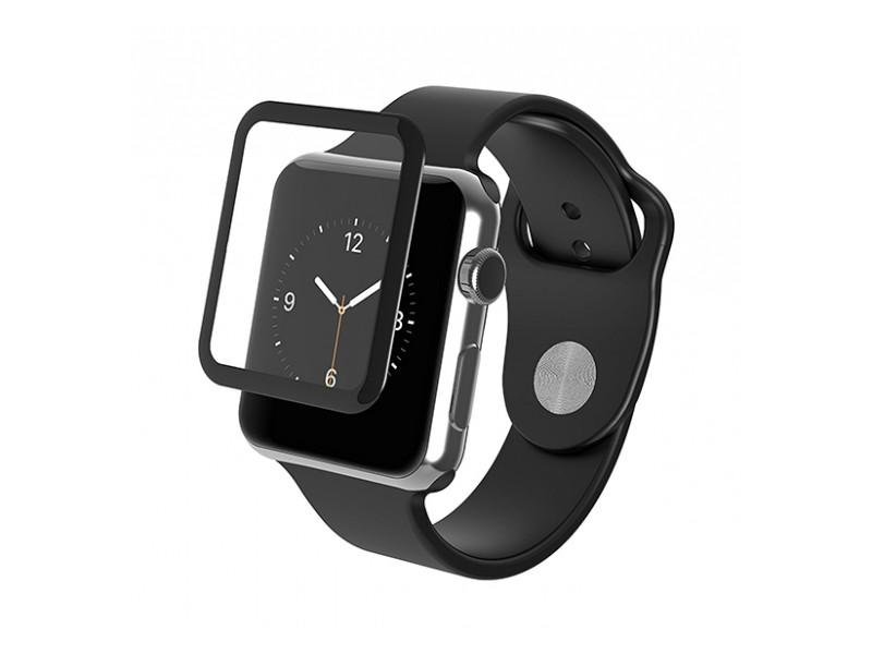 Фото - Аксессуар Противоударное стекло Innovation 3D для APPLE Watch 38mm Black 12128 защитное стекло skinbox apple watch 38mm