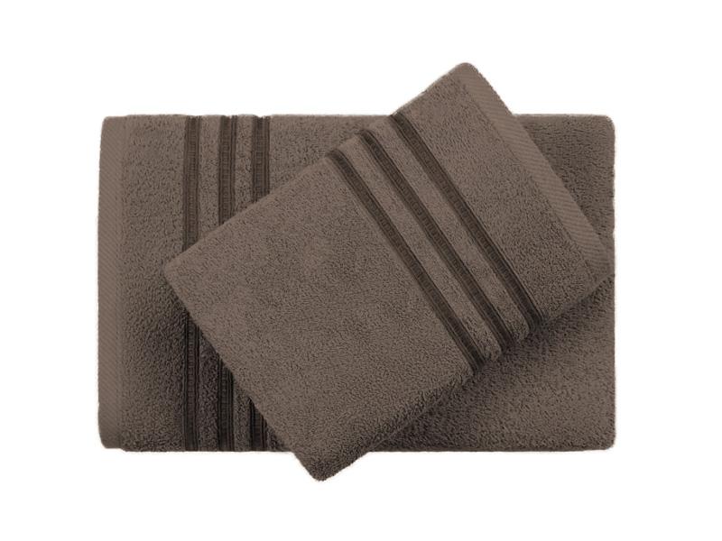 Полотенце Aquarelle 40x70 Верона Dark Brown 723508