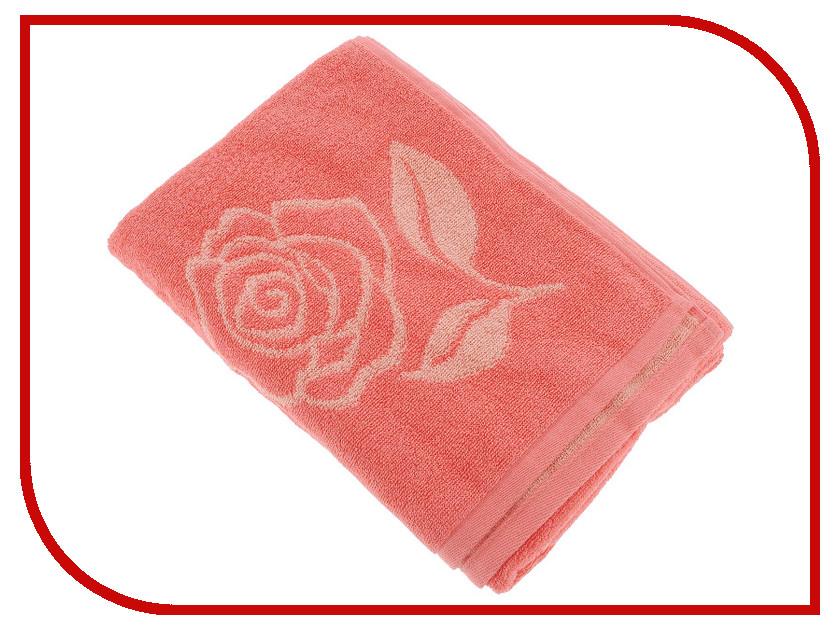 Полотенце Aquarelle Розы вид 1 70x140cm Pink-Peach-Coral 710447