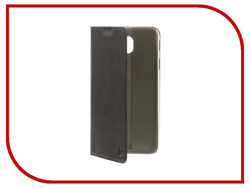Аксессуар Чехол-книжка для Samsung Galaxy J7 2017 DYP Casual Wallet Black DYPCR00019