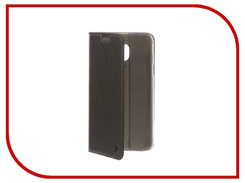Аксессуар Чехол-книжка для Samsung Galaxy J3 2017 DYP Casual Wallet Black DYPCR00017 аксессуар чехол samsung galaxy j3 2017 cojess tpu 0 3mm transparent