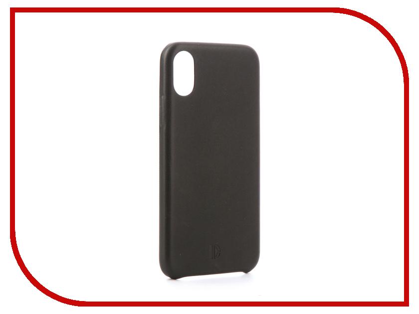 Аксессуар Чехол-накладка DYP Cover Case для APPLE iPhone X Black DYPCR00024