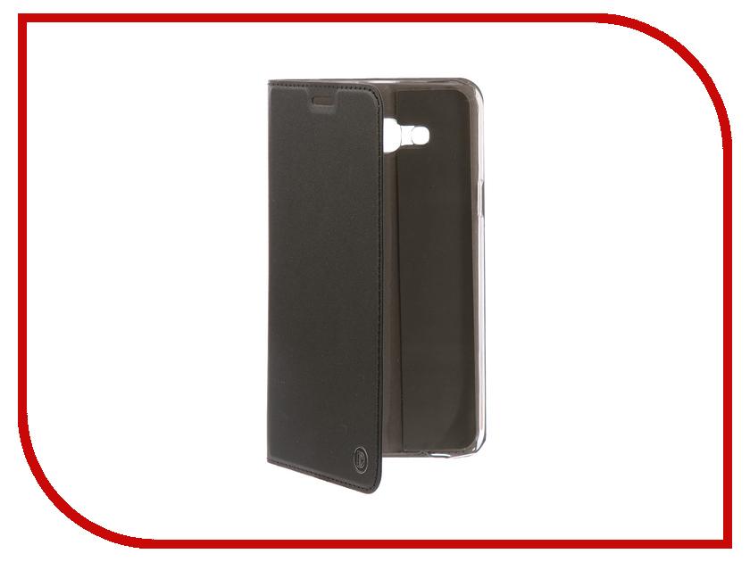Аксессуар Чехол-книжка для Samsung Galaxy J7 Neo DYP Casual Wallet Black DYPCR00031 аксессуар чехол samsung j3 2017 j330f zibelino clear view black zcv sam j330 blk