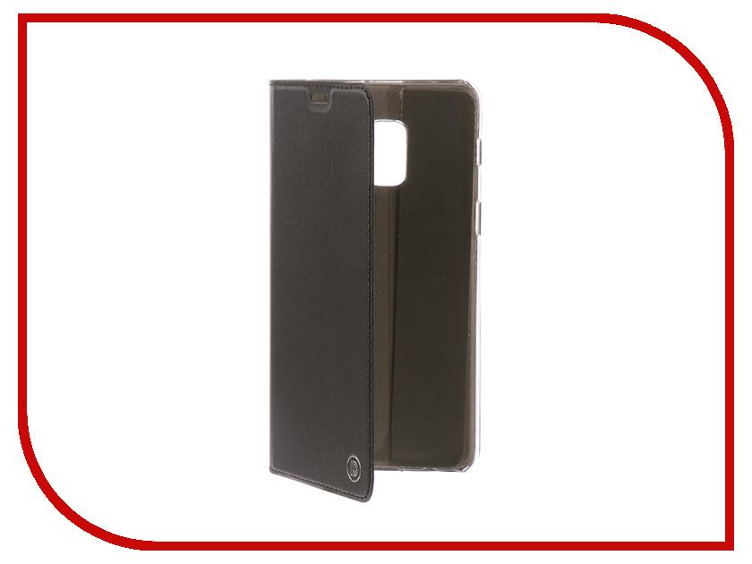 Аксессуар Чехол-книжка для Samsung Galaxy A8+ 2018 DYP Casual Wallet Black DYPCR00033 gangxun blackview a8 max корпус высокого качества кожа pu флип чехол kickstand anti shock кошелек для blackview a8 max