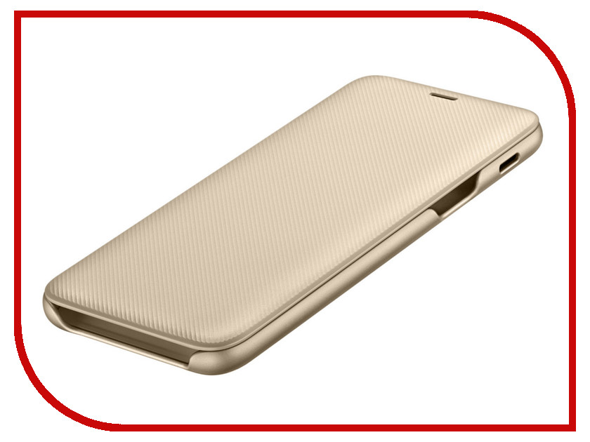 Аксессуар Чехол-книжка Samsung Galaxy A6 2018 Wallet Cover Gold EF-WA600CFEGRU