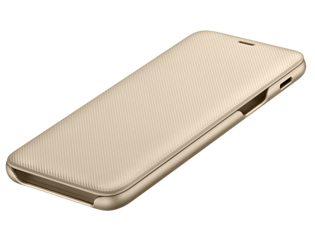 Чехол-книжка Samsung Galaxy A6 2018 Wallet Cover Gold EF-WA600CFEGRU
