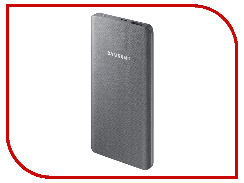 Фото - Аккумулятор Samsung 5000mAh Silver-Grey EB-P3020CSRGRU аккумулятор внешний samsung eb pn915bsrgru silver