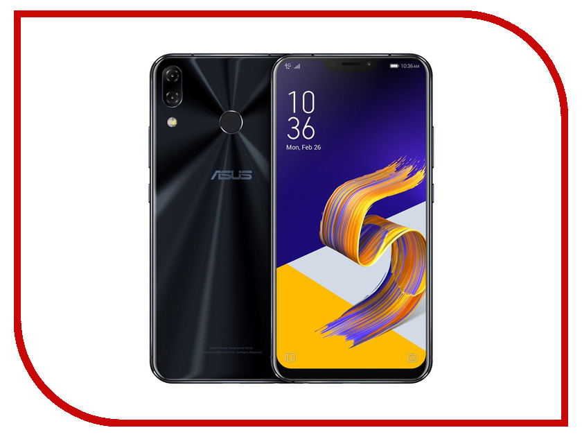 Сотовый телефон ASUS ZenFone 5Z ZS620KL 8/256GB Midnight Blue цена 2017