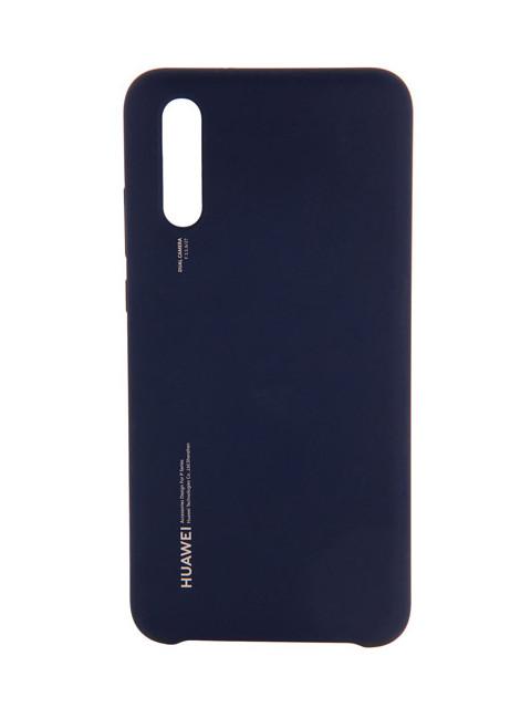 Аксессуар Чехол для Huawei P20 Silicone Deep Blue 51992363