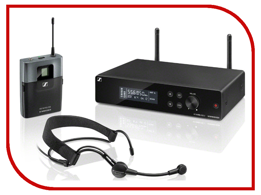 Радиосистема Sennheiser XSW 2-ME3-A meizu me3