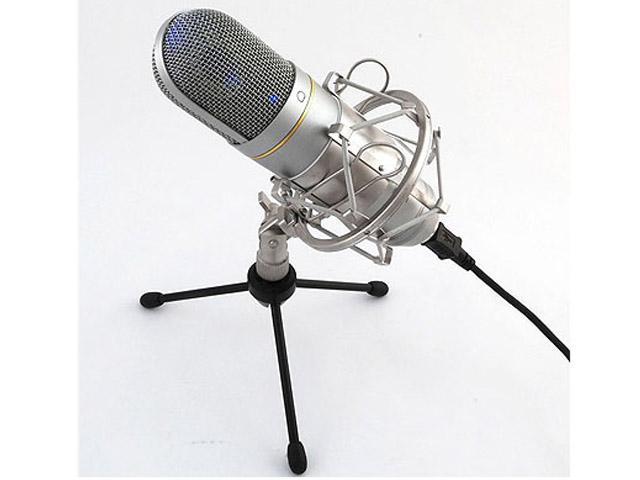 Микрофон Recording Tools MCU-01 USB Nickel + стойка и амортизатор