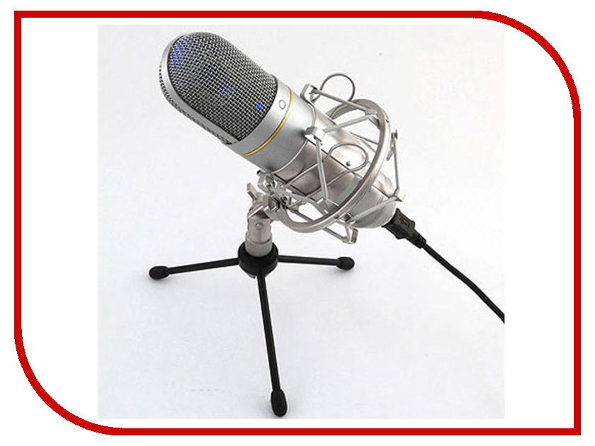 Микрофон Recording Tools MCU-01 USB Nickel cad u37 usb studio recording microphone