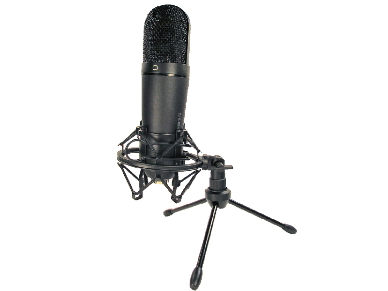 Микрофон Recording Tools MCU-01 USB Black + стойка и амортизатор